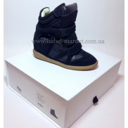 Bekket Wedge Sneakers In Black