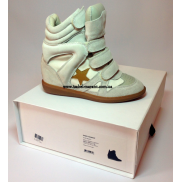 Bayley Wedge Sneakers Light Grey