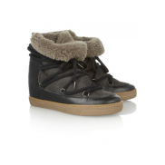 Isabel Marant Nowles sheepskin boots